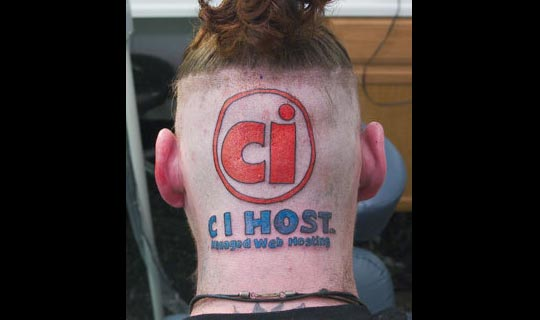 "Many credit Illinois man Jim Nelson with starting the ""skin-vertisement"" fad back in 2003. Nelson pledged to tattoo internet firm CI Host's logo on the back of his head and keep it for at least five years. The stunt earned him just $7,000."