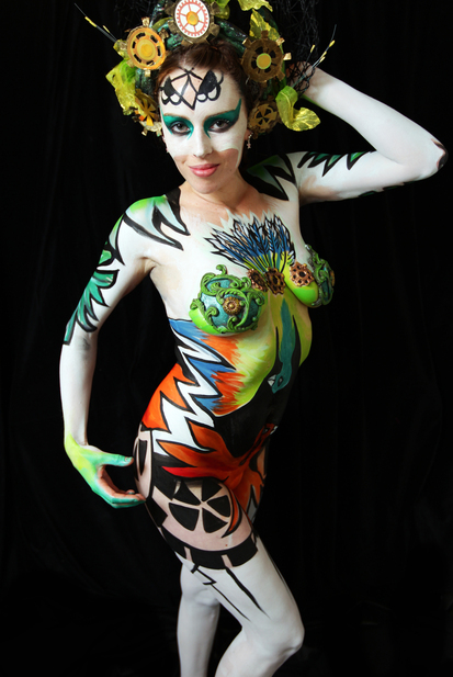 All New Out of this World Body Art Showcase