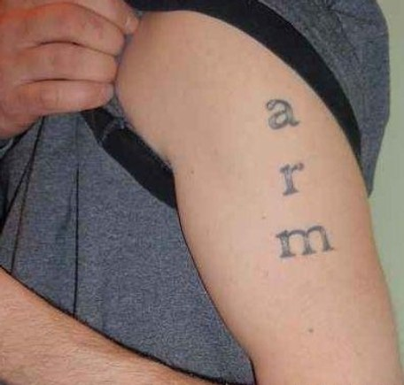 Arm Tat | Bad Tattoo Pictures