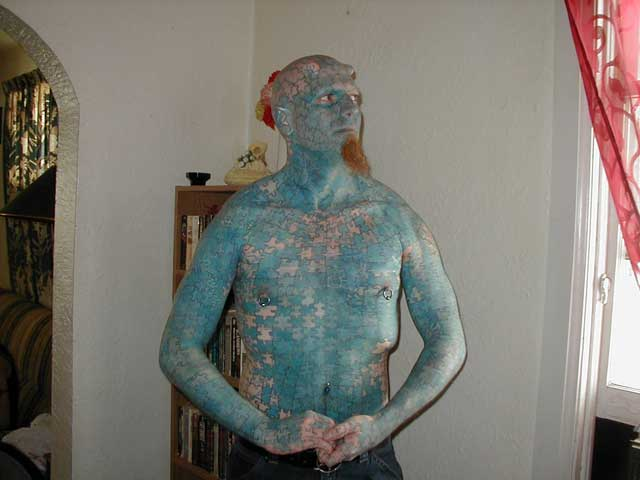 Puzzle Man Tattoo Two hundred tattoo artists